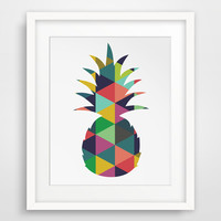 Pineapple Decor, Nursery Wall Art, Baby Room Artwork Wall Picture Canvas Art Poster Cuadros Oil Painting Wall Decor No Frame