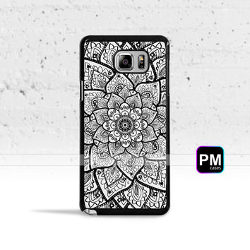Mandala Flower Case Cover for Samsung Galaxy S3 S4 S5 S6 S7 Edge Plus Active Mini Note 3 4 5 7
