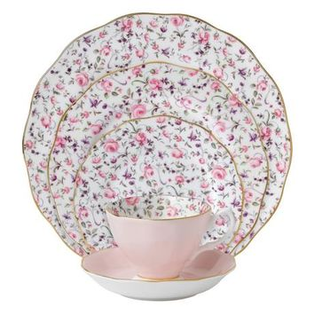 Royal Albert Rose Confetti Dinnerware Range - House of Fraser