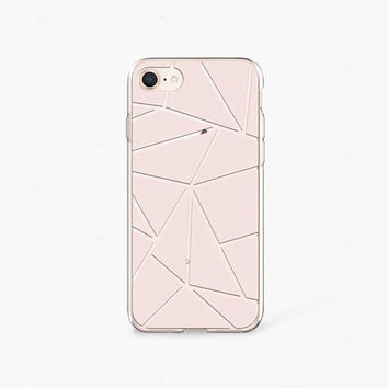 Beige iPhone 7 Case Clear iPhone 8 Case iPhone 7 Plus Clear Case Clear iPhone X Case Samsung Galaxy S8 Case Samsung S9 Case