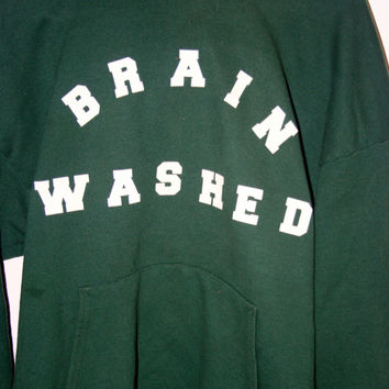 Brain Washed Hoodie  (Small/Indie Brands)