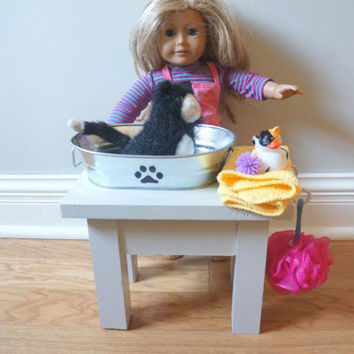 American Girl Pet Shop & Wash Stand