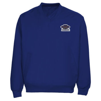 UC Santa Barbara Gauchos Logo Applique Pullover Windbreaker Jacket - Royal Blue