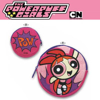 The Powerpuff Girls Zipper Coin Purse (Blossom)