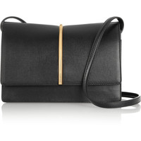 Nina Ricci - Arc textured-leather shoulder bag