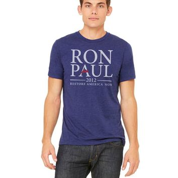 Ron Paul 2012 Presidential Campaign Retro Tri-Blend T-Shirt