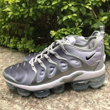 Nike Air VaporMax Plus Wolf Grey White Running Shoes - Best Deal Online