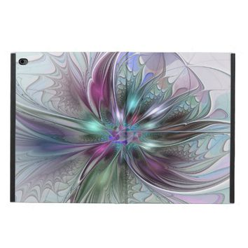 Colorful Fantasy, abstract and modern Fractal Art Powis iPad Air 2 Case