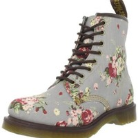 Dr. Martens Women's Castel Boot,Inigo Denim Victorian Flowers,7 UK/9 M US