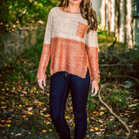Copper Sheen Knit