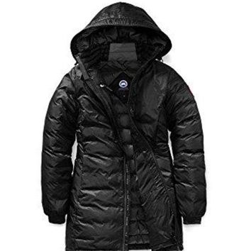 DCCK6N8 Canada Goose Women s Camp Hooded Jacket Black XS