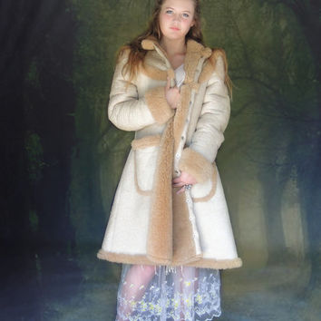 Best Sheepskin Fur Coat Products on Wanelo