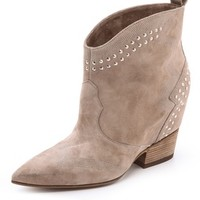 Accent Studded Booties
