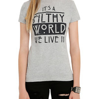 American Horror Story Filthy World We Live In Girls T-Shirt