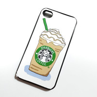 Starbucks addict iPhone 5 Case iPhone 5 Cover Hard by faroutcase