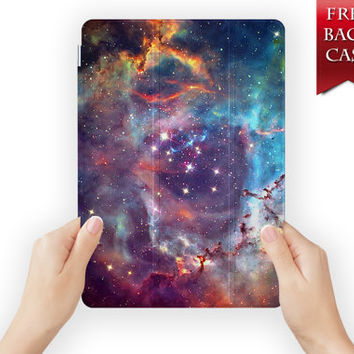 ipad mini case leather smart cover galaxy for ipad mini ipad air 1 2 3 retina display galaxy-03galaxy01