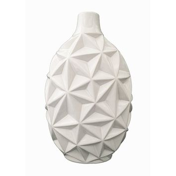 D'Lusso Designs Nadia Collection Fourteen Inch Vase