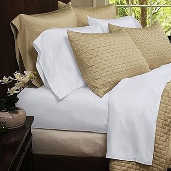 4-Piece: Rayon from Bamboo Egyptian Comfort Bed Sheet Set