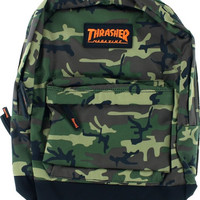 Thrasher Magazine Logo Backpack Camo