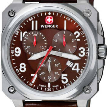Wenger Men's Swiss Made AeroGraph Cockpit Chronograph 77014