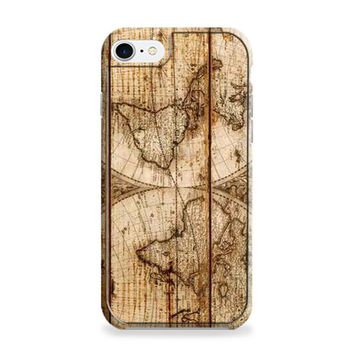 Old World Map Wood iPhone 6 | iPhone 6S Case