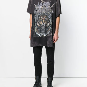 Balmain Oversized Tiger Print T-shirt - Farfetch