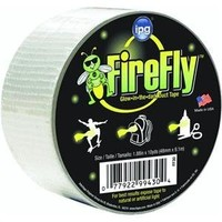Intertape Polymer Group FF30 Fire Fly Glow in the Dark Duct Tape, 2-Inch-by-10-Yard, Plain