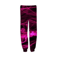 pink smoke sweatpants created by GossipRag | Print All Over Me