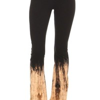 Ombre Flame Yoga Pants