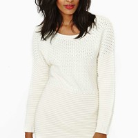Nasty Gal Little Secret Sweater Dress
