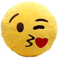 Emoji Kissing Pillow