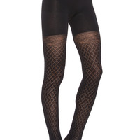 SPANX Girl's Best Friend Tights in Very Black