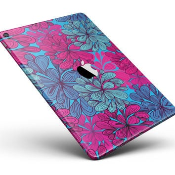 "Vibrant Colorful Floral Sprouts Full Body Skin for the iPad Pro (12.9"" or 9.7"" available)"