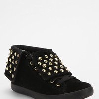 Urban Outfitters - Y.R.U. Thrill Pyramid-Stud Fold-Over High-Top Sneaker