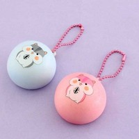 Small Hamster Squishy Charm