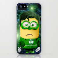 Despicable me minion Green Lantern iPhone & iPod Case by pointsalestore
