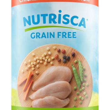 Dogswell Nutrisca Chicken & Chickpea Stew Dog Can 12/13 oz