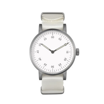 VOID Watches — White V03B Analogue Watch NATO Strap