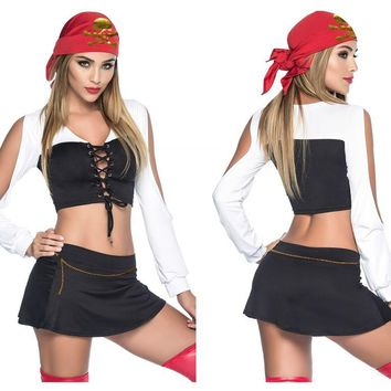 Mapale 6316 Pirate Outfit Color Multi-colored