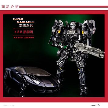 Top Sale 18cm New Arrival Classic Transformation Plastic Best Car Alloy Robot Car Action Toy Figures Kids Education Toy Gifts