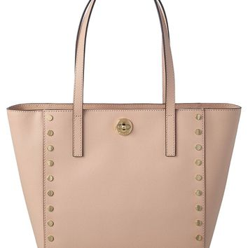Michael Kors Women's Rivington Studded Medium Tote Bag