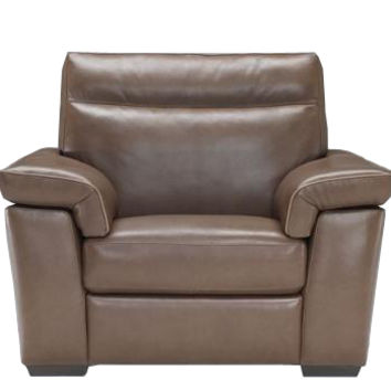 Cervo Power Reclining Leather Chair by Natuzzi Editions