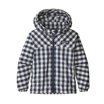Patagonia, Baby High Sun Jacket, Gingham: Classic Navy