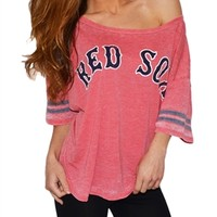 Womens Boston Red Sox Tee | SportyThreads.com
