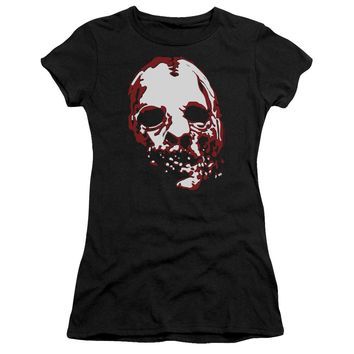 American Horror Story - Bloody Face Short Sleeve Junior Sheer