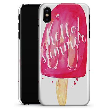 Hello Summer Popcicle - iPhone X Clipit Case