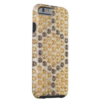 Shimmering Gold Studded Fashion IPhone 6 Case