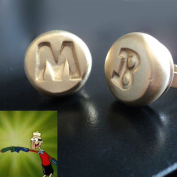 Mermaid Man and Barnacle Boy Ring Set