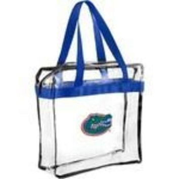 ESBON NCAA Florida Gators Forever Collectibles Clear Hand Tote Bag