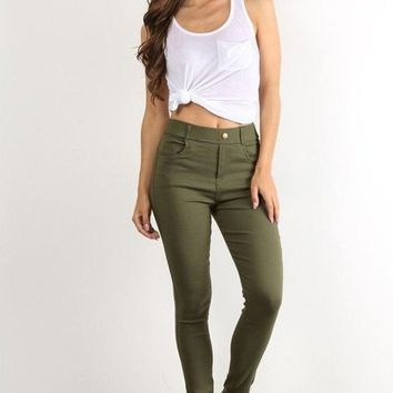 Lucky Duck City Chic Jeggings